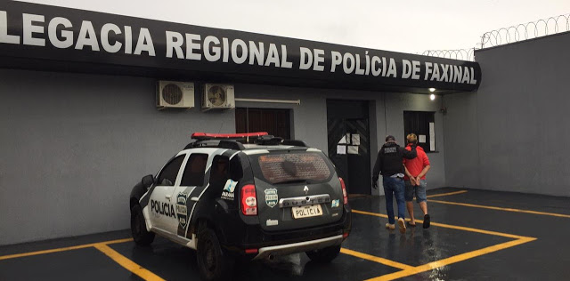 Policia Civil prende em Rio Branco do Ivaí, acusado de tráfico e outros crimes
