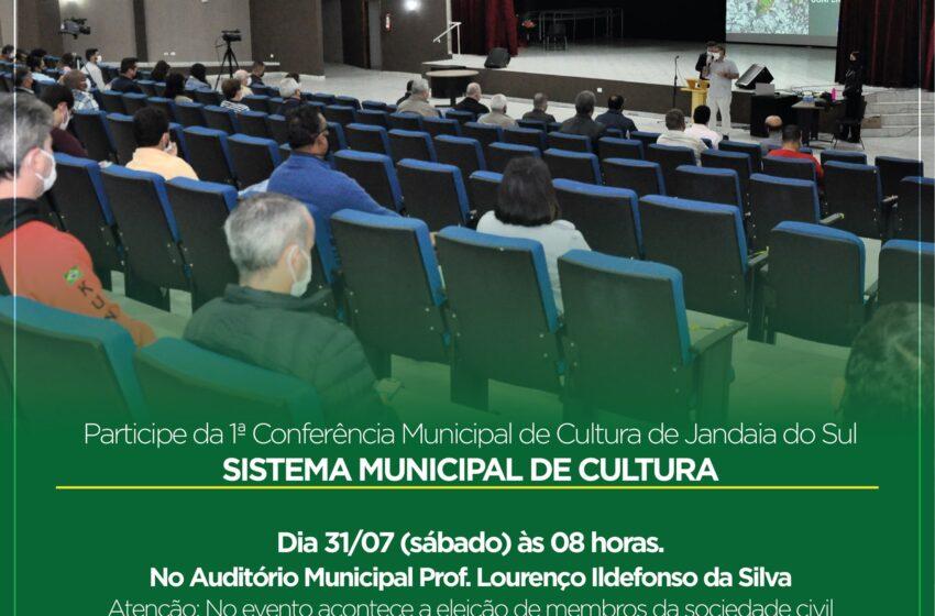 1ª Conferência Municipal Cultural de Jandaia do Sul