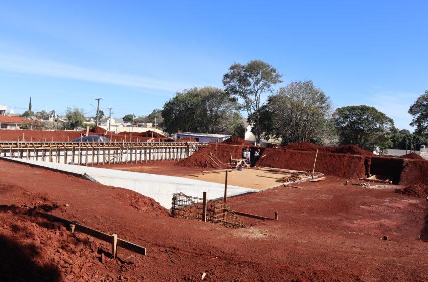 Prefeitura de Ivaiporã e Sanepar analisam obras em execução e discutem Marco Legal do Saneamento Básico