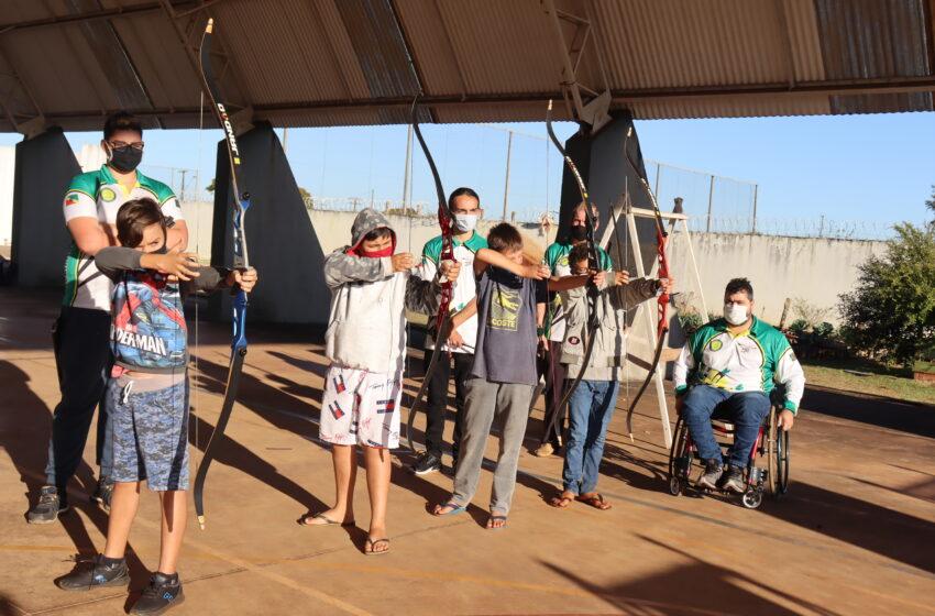 Atafi e Centro da Juventude Ivaiporã disputam Campeonato Paranaense e Brasileiro de Arco e Flecha