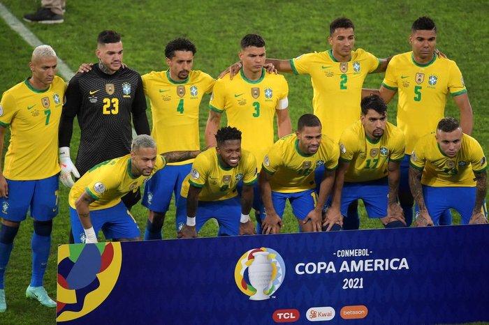 Brasil vence o Peru por 1 a 0 e garante vaga na final da Copa América