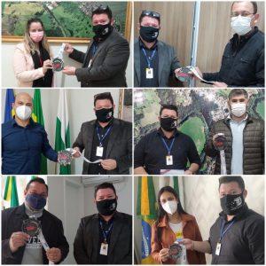 Sesc Ivaiporã entrega medalhas da Campanha Digital de Combate a Dengue aos Municípios de abrangência