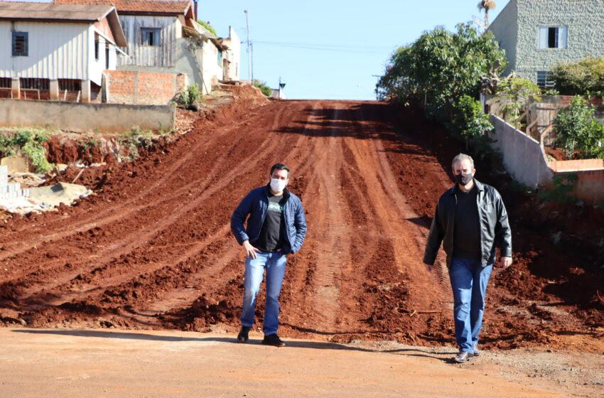 Gestão Carlos Gil e Marcelo Reis executa obras de infraestrutura na área urbana de Ivaiporã