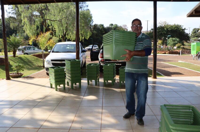 Prefeitura de Ivaiporã divulga classificação dos vencedores das composteiras domésticas