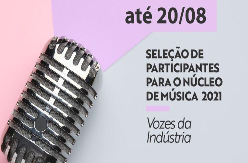 Inscrições prorrogadas para o Núcleo de Música Sesi/PR 2021