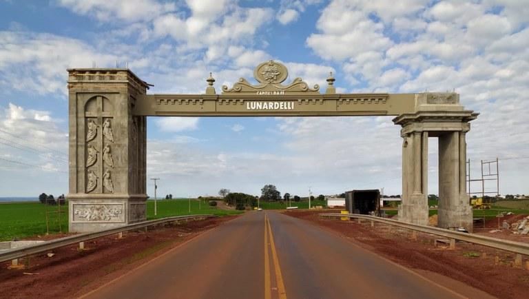 Ministério do Turismo investe R$ 650 mil em infraestrutura turística em Lunardelli