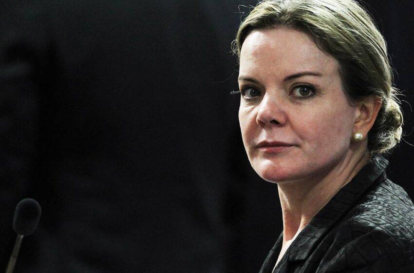 Deputada Gleisi Hoffmann é dada como morta nos registros do SUS