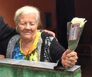 Tristeza com a morte da pioneira Maria Conceição Pedroso em Borrazópolis