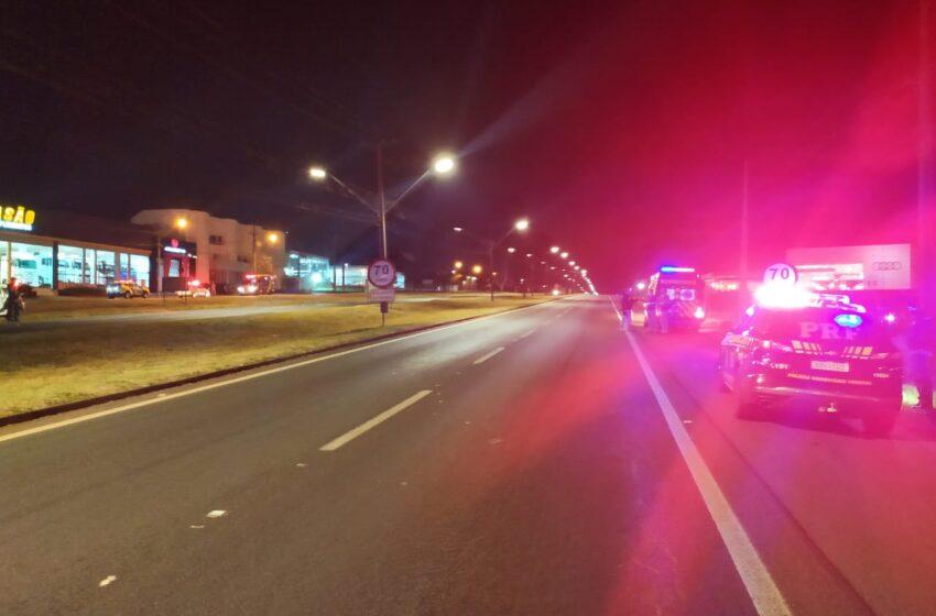 Homem morre após acidente na BR-369 próximo a Londrina