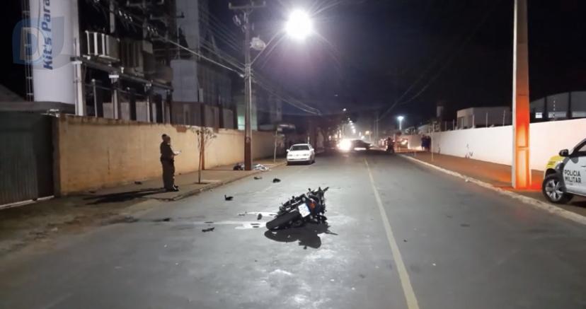 Motociclista morre após grave acidente em Arapongas