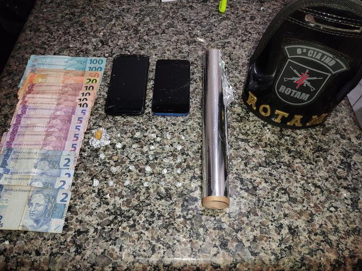 Trio é preso suspeito de tráfico de drogas em Lunardelli