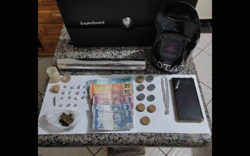 Homem é preso suspeito de tráfico de drogas em Lunardelli