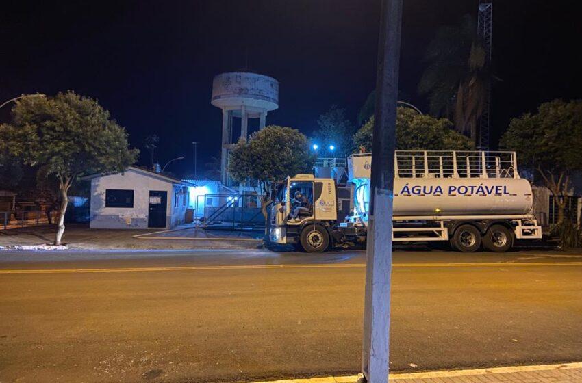 Furto na unidade de captação afeta abastecimento de água em Borrazópolis