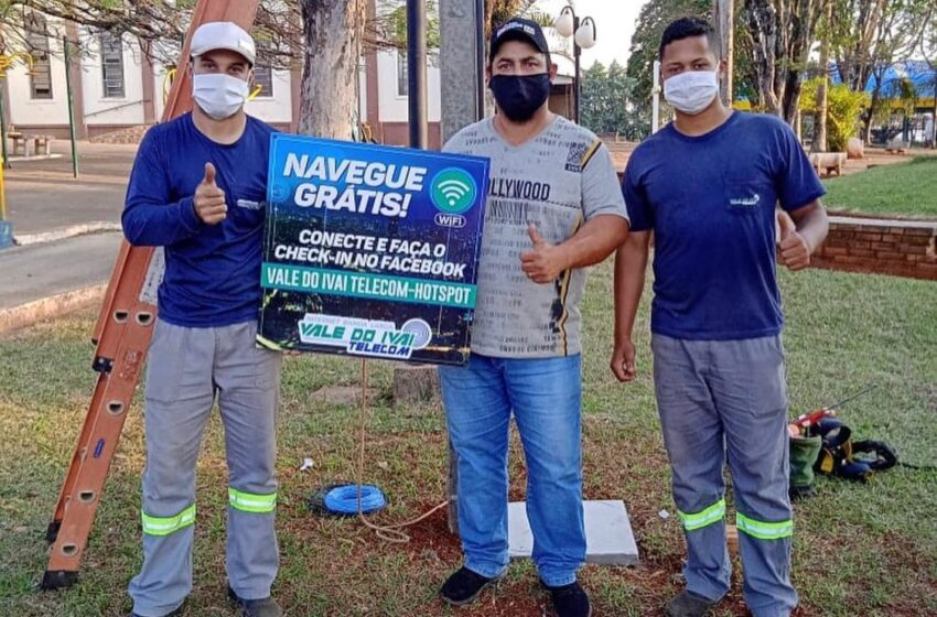 Prefeitura de Grandes Rios oferece internet gratuita para moradores