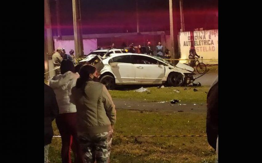 Jovem de 28 anos é ejetado de veículo e morre em acidente de trânsito em Rolândia