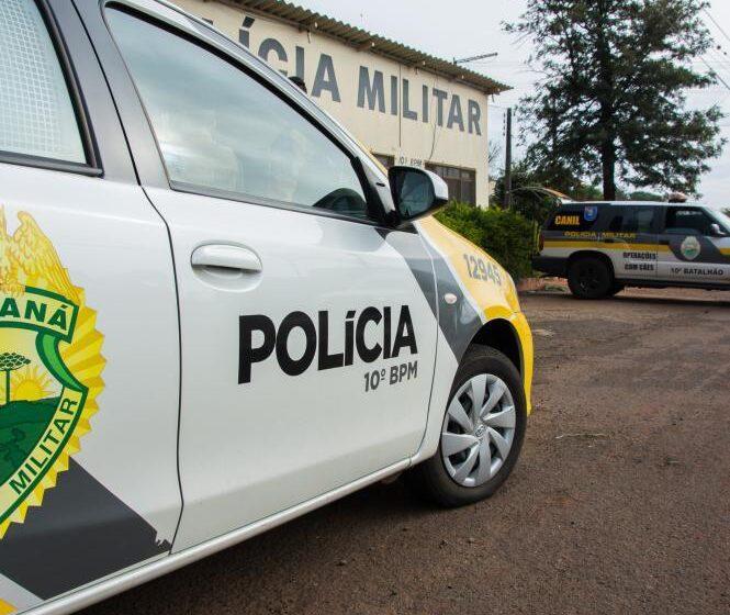 PM interrompe festa com 500 pessoas em Apucarana