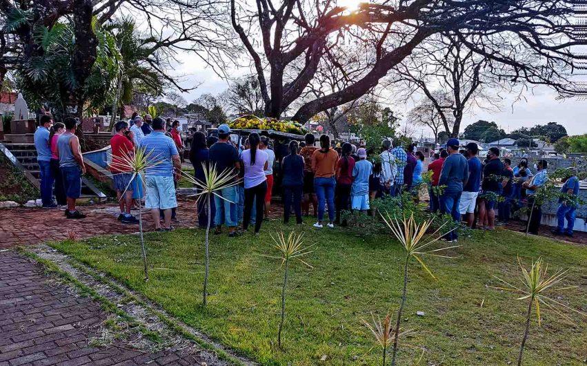 Sob forte comoção vereador Sadi Marcondes foi sepultado em Ivaiporã