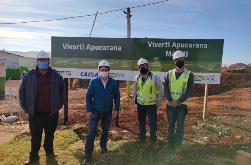 """Apucarana ganha bairro planejado do """"Casa Verde e Amarela"""""""