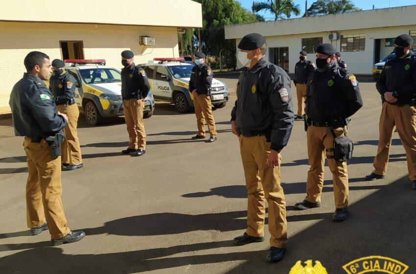 Policiais da 6ª Companhia Independente da PM participam de instrução Combate em Ambiente Confinado em Ivaiporã