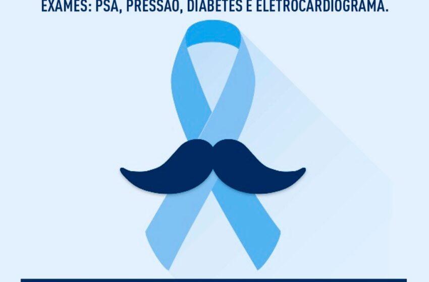 Agosto azul: Rio Bom desenvolve ações para saúde do homem