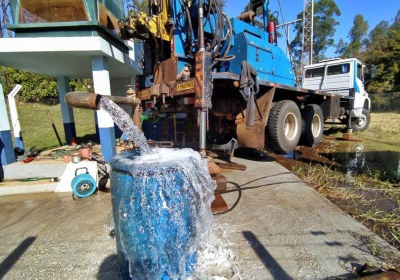 Sanepar entrega obras de água e esgoto em Lunardelli