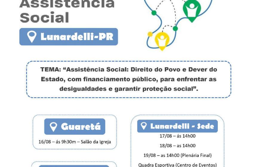 Lunardelli realiza a 10ª Conferência Municipal de Assistência Social