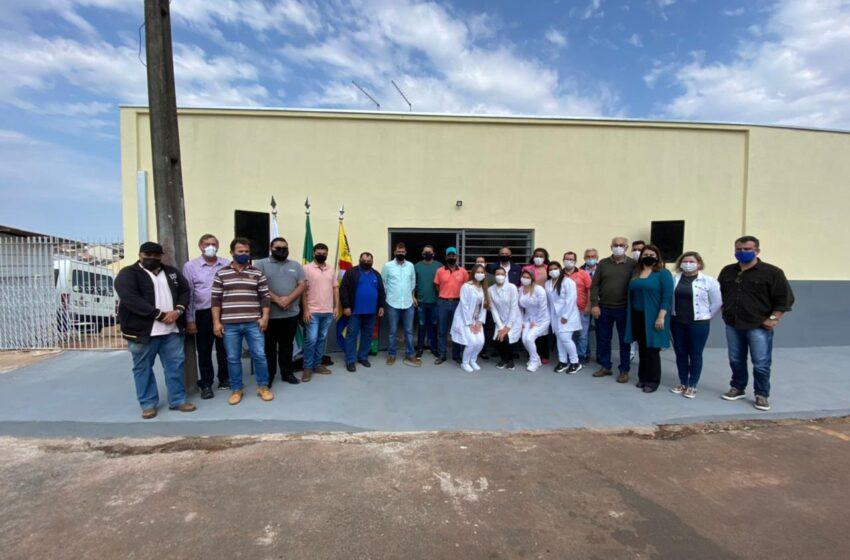 São João do Ivaí inaugura ala exclusiva para Covid no Hospital Municipal