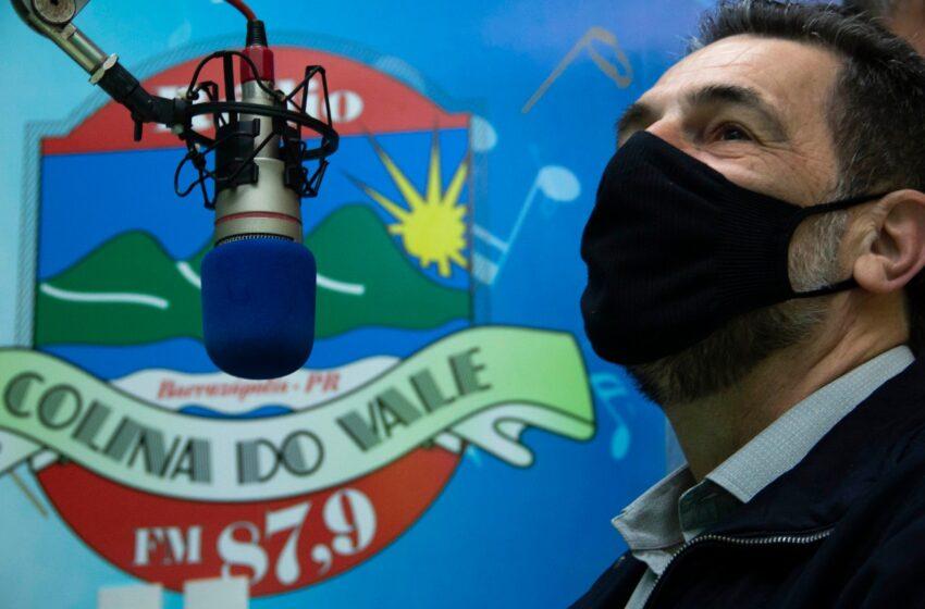 Enio Verri visita Borrazópolis e assegura novos recursos para o município