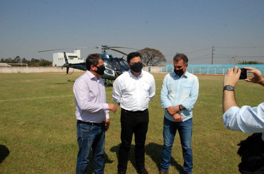 Faxinal recebe a visita do Secretário de Infraestrutura do Paraná Sandro Alex