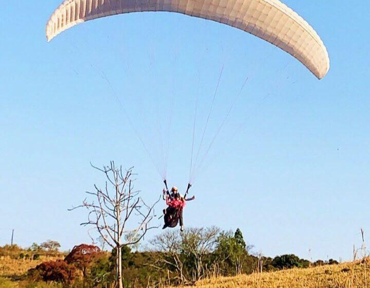 Grandes Rios inaugura rampa de voo livre