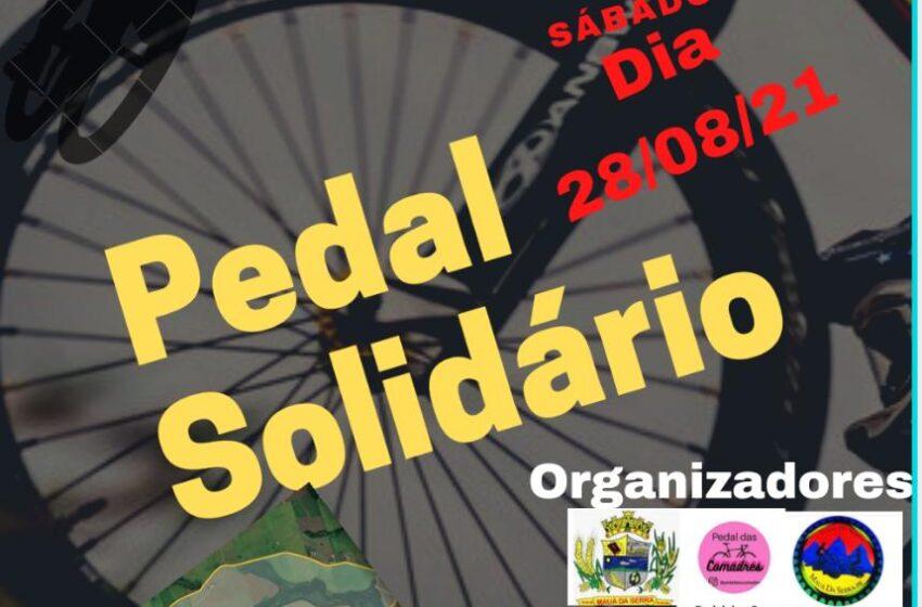 Mauá da Serra promove o pedal solidário para arrecadação de alimentos