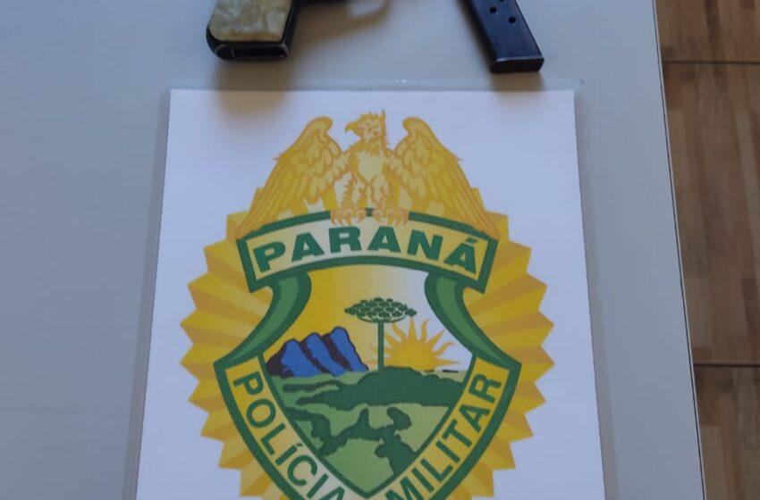 Jovem é preso por porte ilegal de arma de fogo em Mauá da Serra