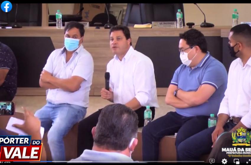 VÍDEO – Secretário Estadual de Infraestrutura e Logística Sandro Alex visita Mauá da Serra