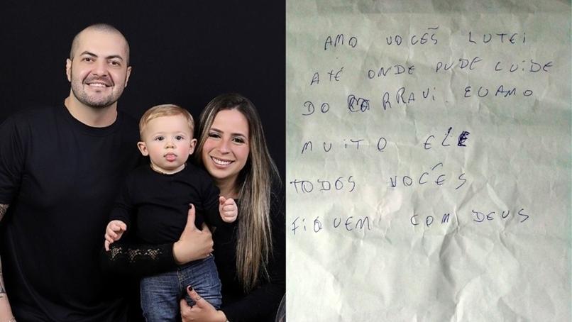 Homem com câncer deixa carta para família antes de morrer de Covid: 'Lutei até onde pude'