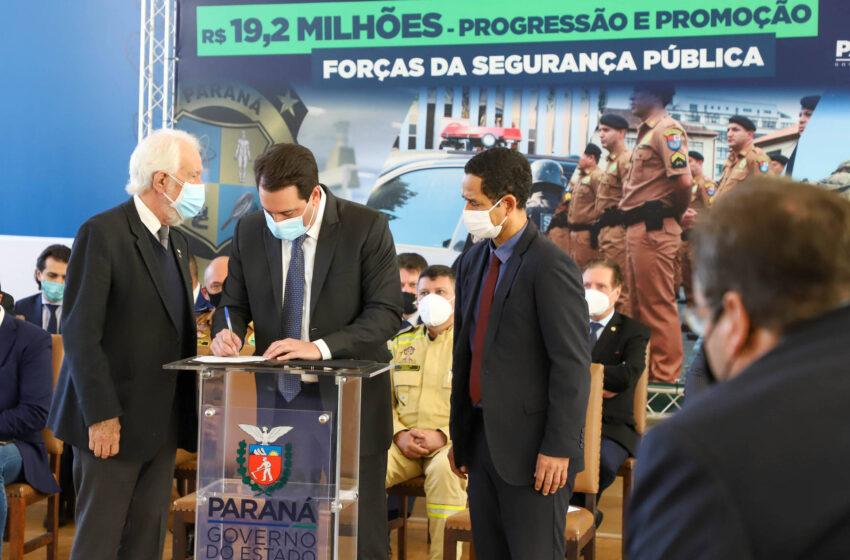 Governador autoriza promoções e progressões a 9.860 profissionais da Segurança Pública