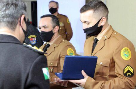 192 policiais militares concluem Curso de Sargentos 2021. Foto: PMPR