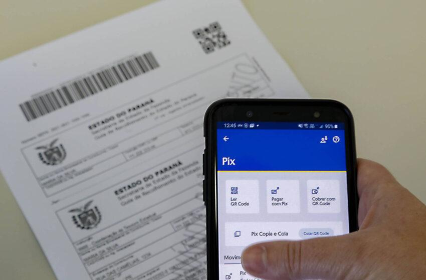 Secretaria da Fazenda moderniza Guia de Recolhimento com pagamentos via PIX