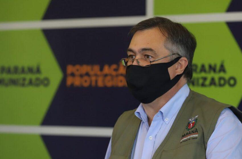 3ª dose: Paraná aguarda informe técnico do PNI para organizar vacinação, diz Beto Preto