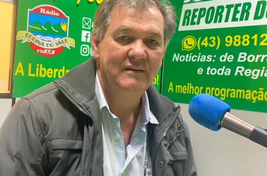 Entrevista com o prefeito Edmilson Stencel de Kaloré
