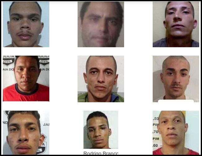 Quatorze detentos fugiram da cadeia de Jandaia do Sul