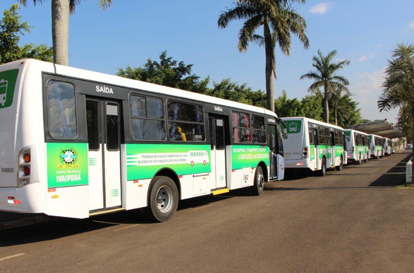 Prefeitura de Ivaiporã libera transporte público e aumenta capacidade de pessoas em eventos