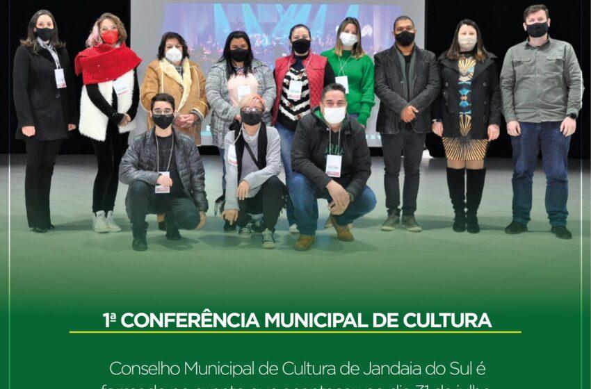 Conferência Municipal de cultura é realizado em Jandaia do Sul