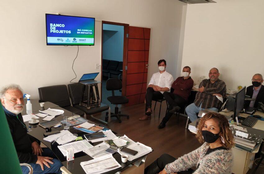 Prefeito de Califórnia participa de reunião virtual com o governador Ratinho Júnior