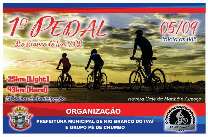 Vem aí – 1º Pedal em Rio Branco do Ivaí