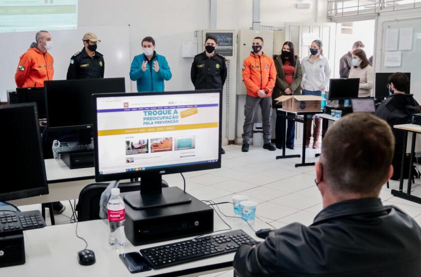 Defesa Civil capacita coordenadores municipais da região