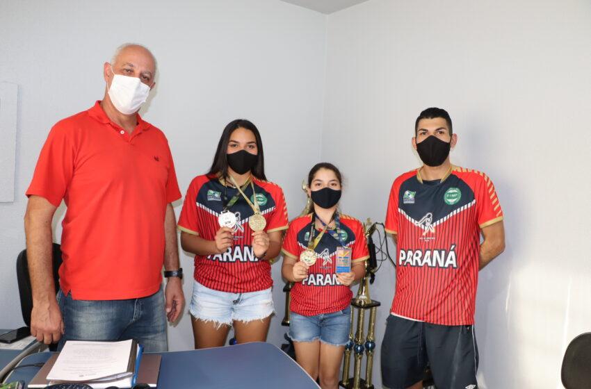 Mesatenista de Ivaiporã apoiada pela Prefeitura vai representar Paraná nos Jogos da Juventude