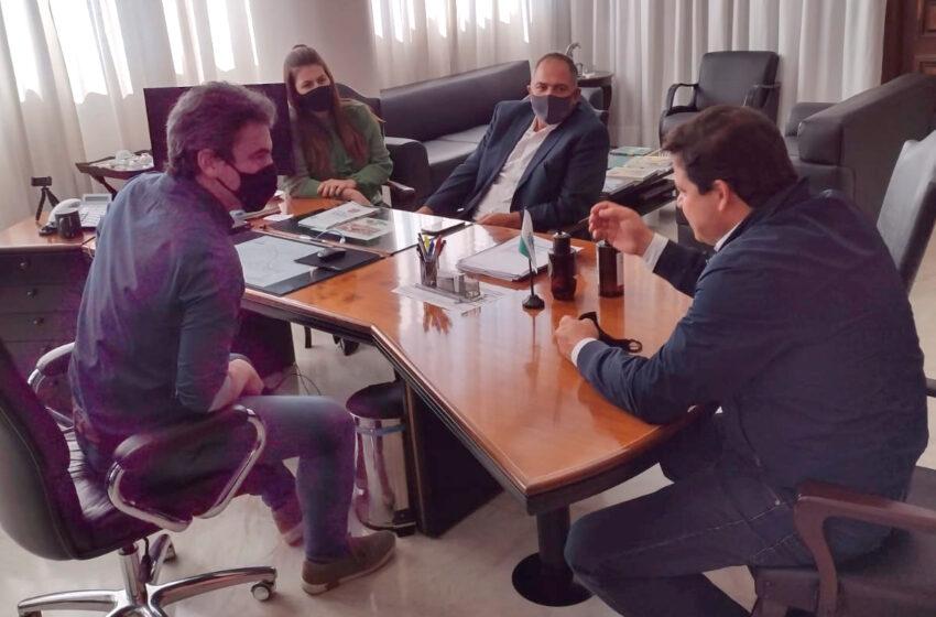 Projetos de São joão do Ivaí são discutidos no DER e Seil
