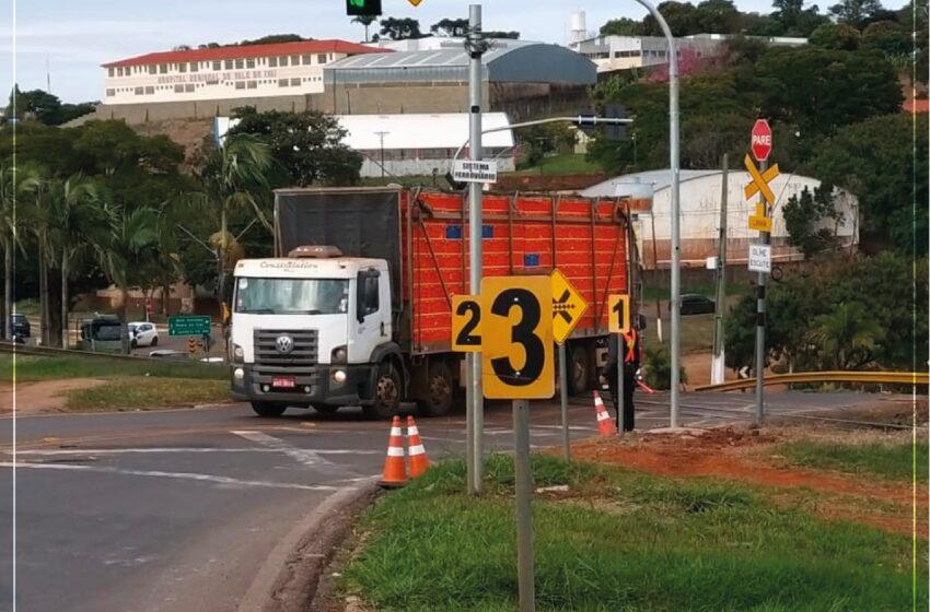 Prefeitura de Jandaia do Sul inicia testes com nova tecnologia nos cruzamentos de trem