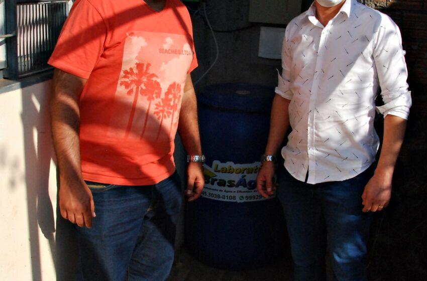 Prefeitura de Faxinal implanta tratamento de água no distrito de Nova Altamira e Vila Rural
