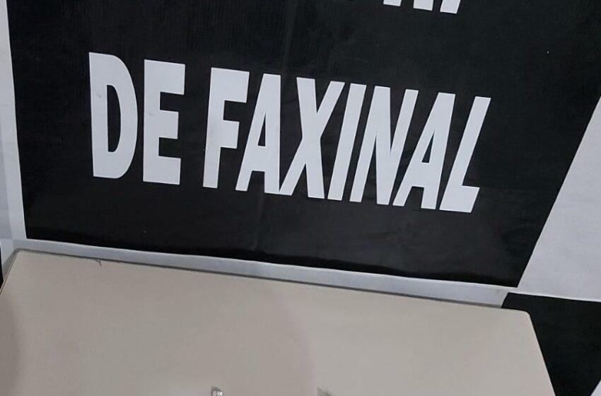 Policia Civil deteve suspeito de tráfico de drogas em Faxinal